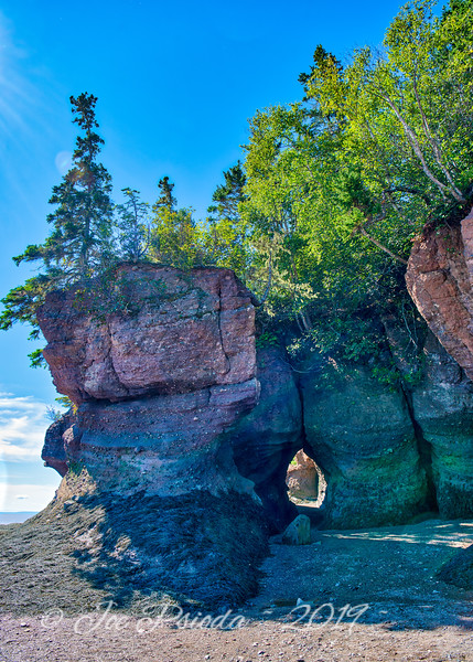 Channels for Sunlight at Hopewell Rocks