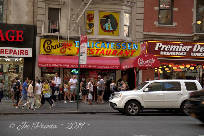 A View of Carnegie Deli