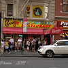 The Line at Carnegie Deli - NYC