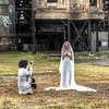 A Wedding Shoot at Carrie Furnaces