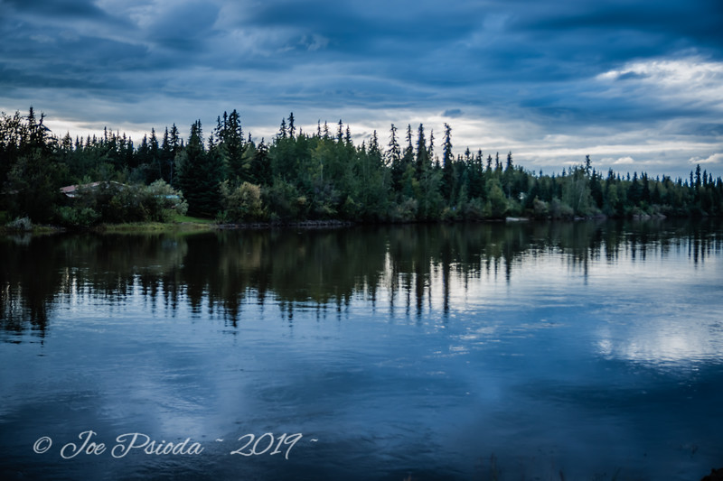 Dusk on the Chena River