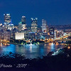 Night View of Pittsburgh