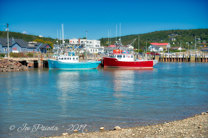 Bay of Fundy Return to Lift the Boats
