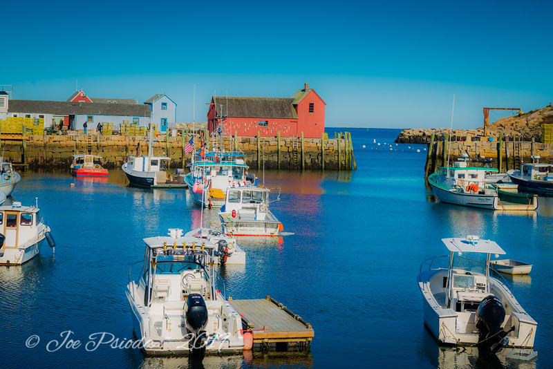 Clear Morning in Rockport Harbor