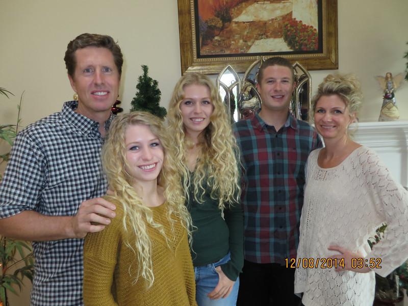 Family Christmas Part on Sunday, December 7, 2014