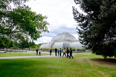 The Palm House and Parterre