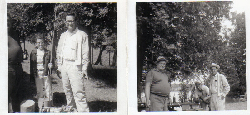 1964 Canada Fishing trip with My father, Uncle Bud and Uncle Delbert