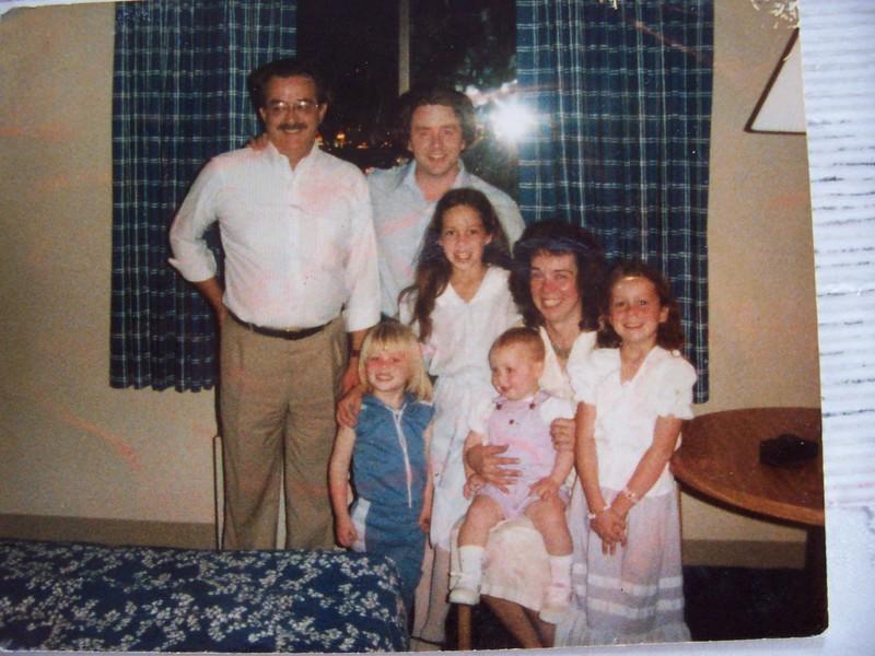 Approx. 1986 Las Vegas  Hotel Room