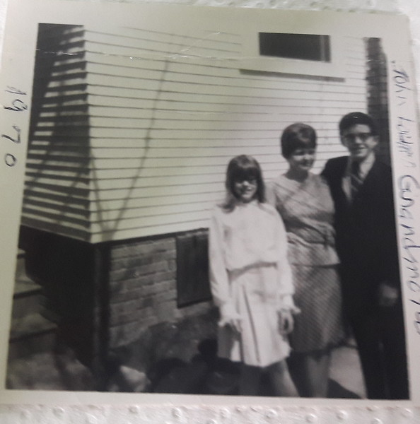 1970  Photo taken at the 204 Forest Drive house In Cedar Rapids Iowa