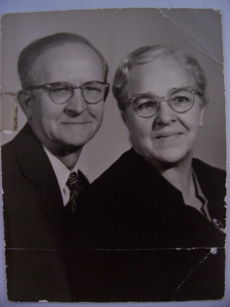 GrandFather Walter Phillips and Mame Phillips My fathers parents