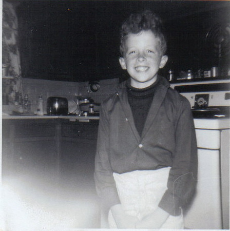 Approx. 1963 Photo taken at the Toddville Iowa house Kitchen