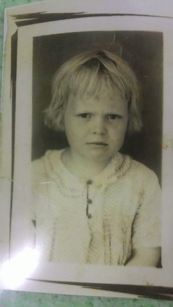 Our Mother Betty Phillips as a 4 year old