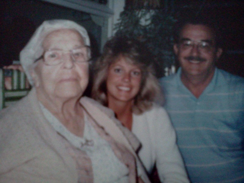 My Grandmother Mame Phillips, LouAnn and our father John Phillips. Photo was taken early in the 1980's