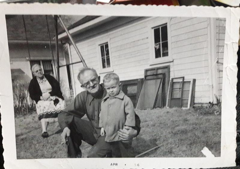 1956 Photo taken in the Backyard of my Grandparents house in Cedar Rapids