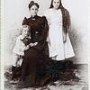 Left to right<br /> James Ancil Greenwood, Ann Eliza Collins, Sarah Ann Greenwood Furber