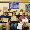 The  Proud Graduates of Steve Cook's Woodturning Class August 2017