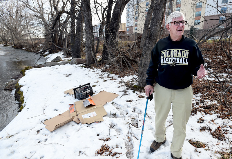 John Canova Cleans up Boulder Creek