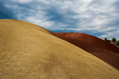 Painted Hills, at John Day National Monument, July 2, 2014.