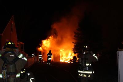 Structure Fire - 23 Mattabassett St. Berlin, CT  - 12/4/16