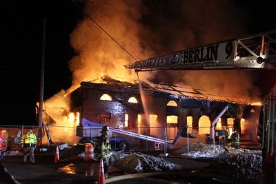 Structure Fire - 51 Depot Rd, Berlin, CT - 12/21/16