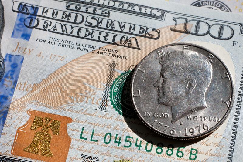 John F Kennedy half Dollar