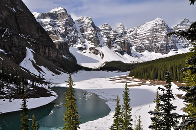Moraine Lake - Canadian Rockies - Alberta, Canada