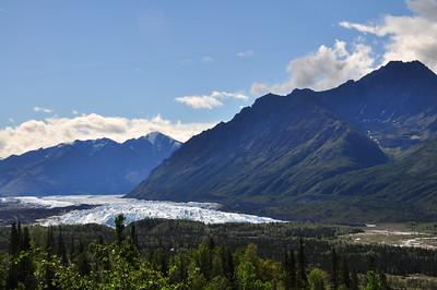Matanuska Glacier - Glenn Highway - Alaska