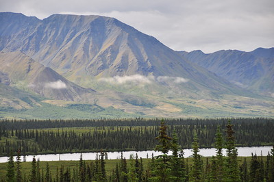Near Denali National Park, Alaska