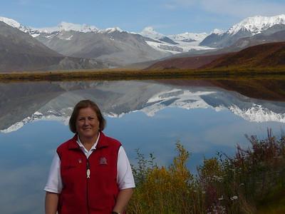 Summitt Lake Alaska - perfect fall day!