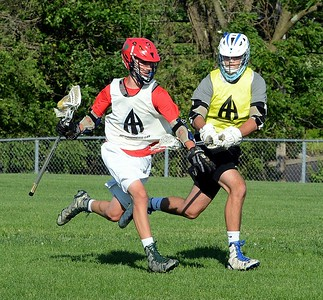Neshaminy's Ryan Maher outraces Egan defender.