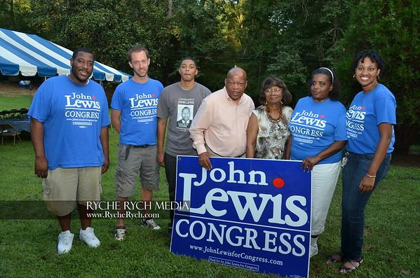 John Lewis Re- Election event 2012