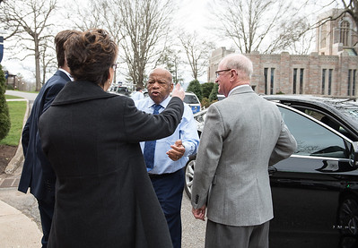 John Lewis and Andrew Aydin Visit