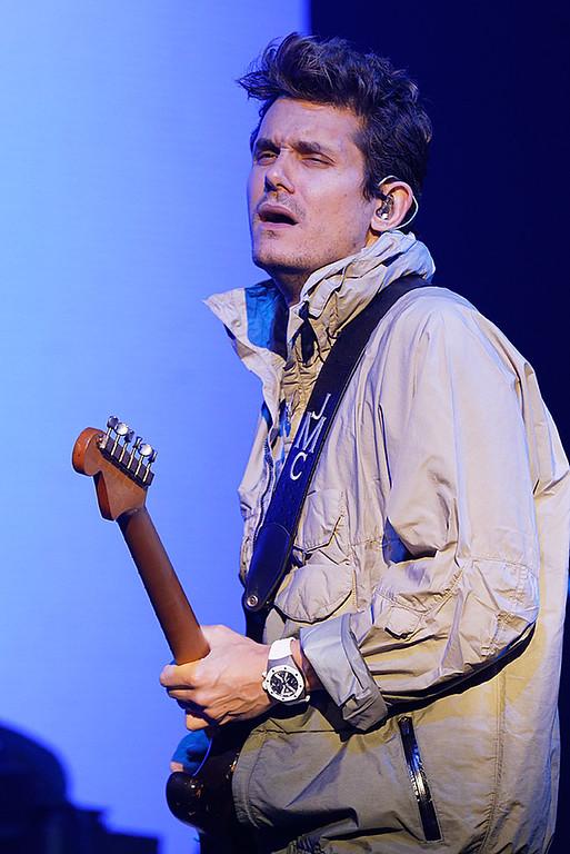 . John Mayer live at DTE on 9-1-2017. Photo credit: Ken Settle