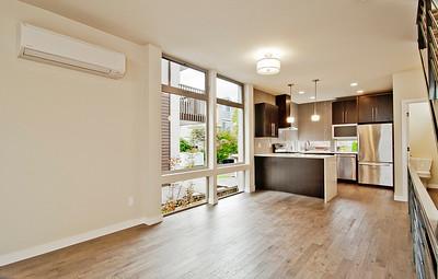 living room dining kitchen bath