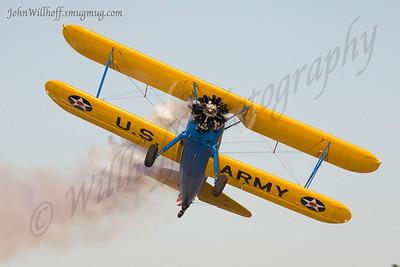 John Mohr's Fantastic Stearman Airshow Act