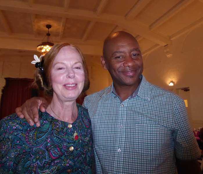 What an honor to meet Branford Marsalis... smiles !