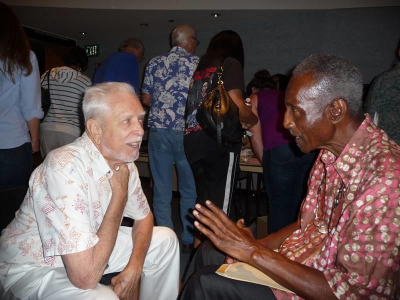 John @ Malcolm X Lib  8_2013