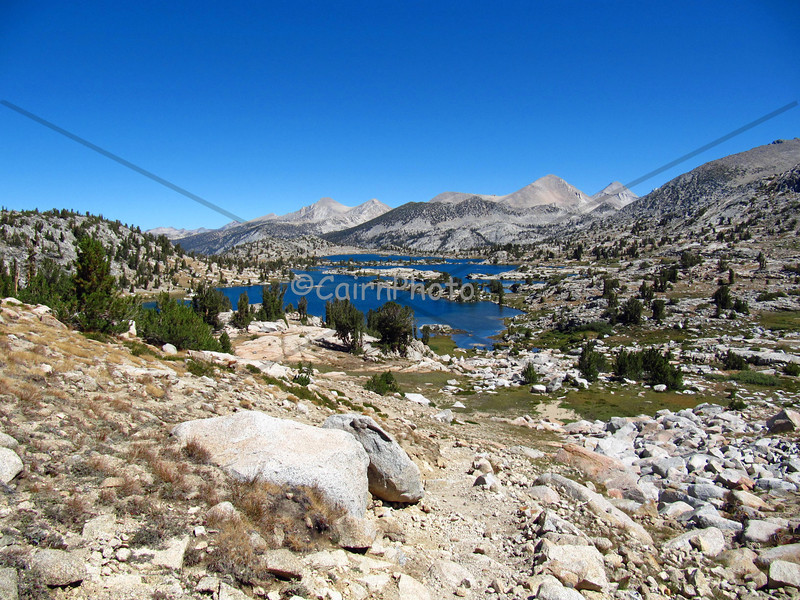 This is Marie Lake, looking north from Seldon Pass.