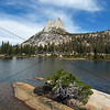 Cathedral Peak and Cathedral Lake, Yosemite National Park.