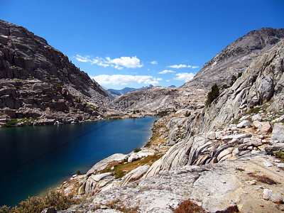 Palisade Lake on the Kings River.