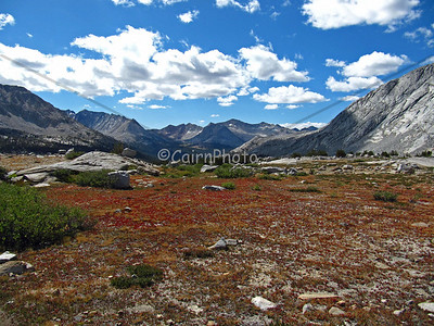 Upper Basin, just south of Mather Pass.