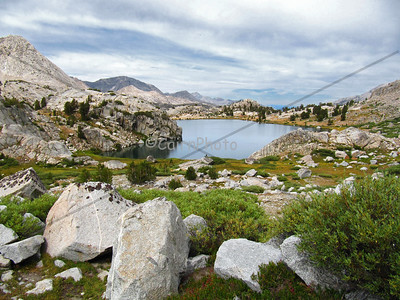 Evolution Lake, Evolution Basin.