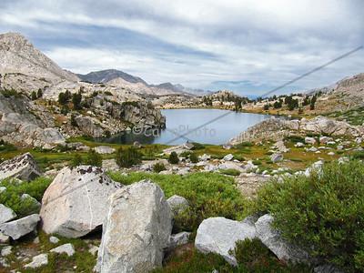 Evolution Lake, Evolution Basin.