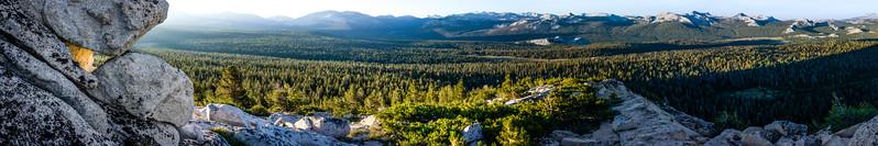 A Yosemite Morning Panorama