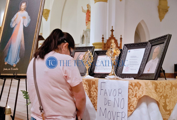 John Paul II and St. Faustina Relics