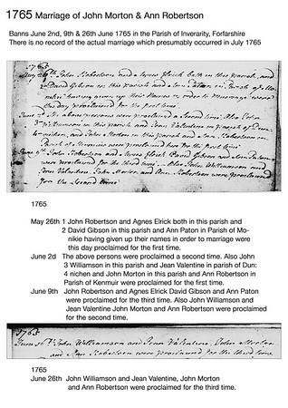 1765 John Morton, Ann Robertson
