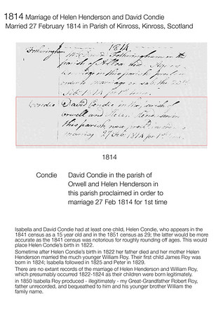 1814 Henderson-Condie Marriage