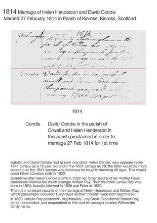 1814 Henderson-Condie Marriage