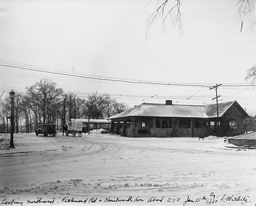 2021.003.PCNW-21--john s ingles 8x10 print [Stanton Wilhite]--C&NW--view of depot at Kenilworth Ave looking northwest--Kenilworth IL--1930 0115