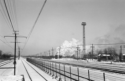 2021.003.IC.9994--john s ingles 127 neg--ICRR--view along right-of-way--near Chicago IL--c1930s